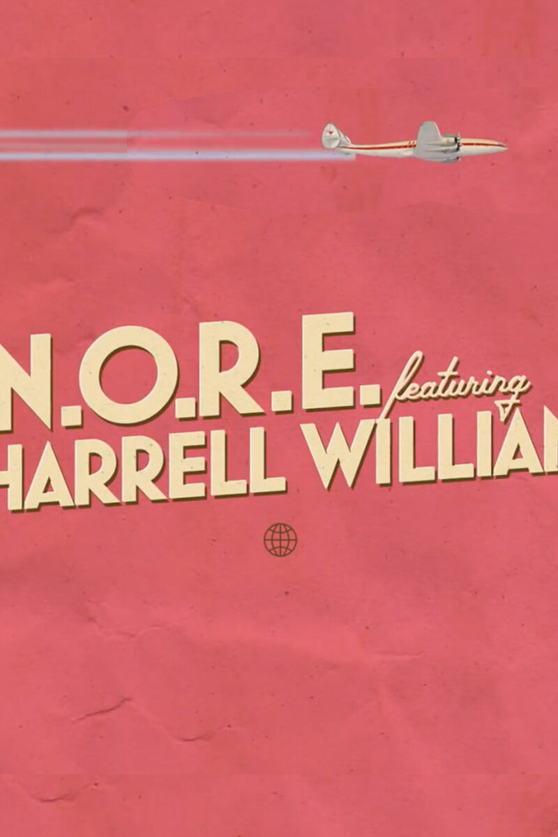 Uno Mas -  N.O.R.E. feat. Pharrell Williams (animated lyric video)